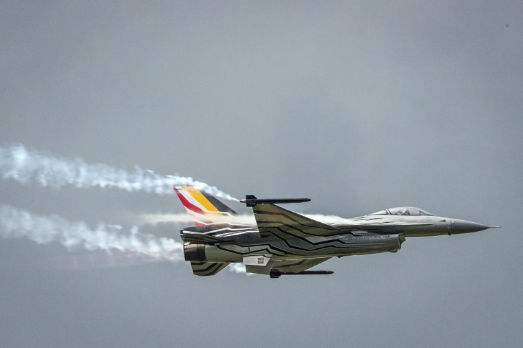 Image: Belgian F16 fighter