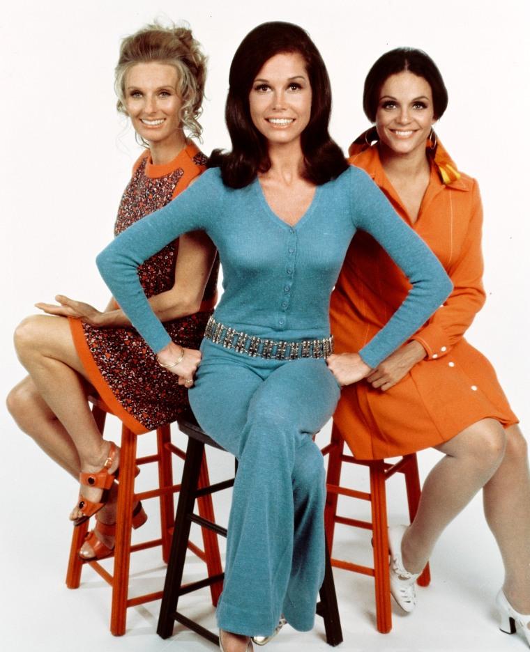 Image: Cloris Leachman, Mary Tyler Moore and Valerie Harper
