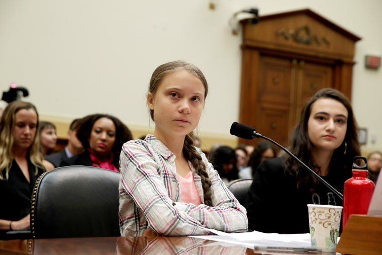Image: BESTPIX - Climate Activist Greta Thunberg Visits Capitol Hill To Speak To Lawmakers