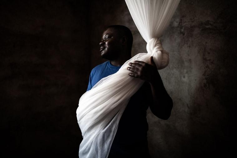 Image: TOPSHOT-DRCONGO-HEALTH-EBOLA-SURVIVORS