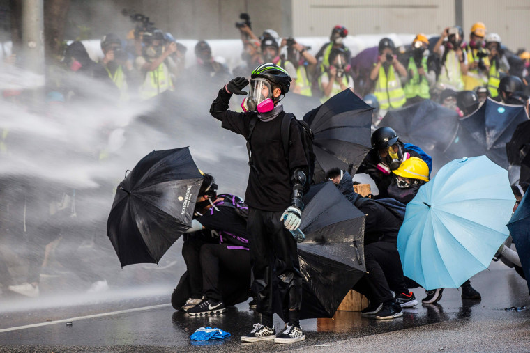 Image: TOPSHOT-HONG KONG-CHINA-POLITICS-UNREST