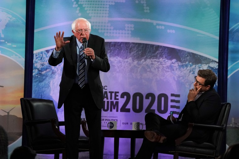 Image: Bernie Sanders Speaks at Climate Forum