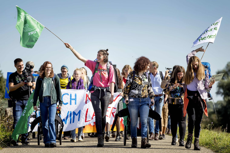 Image: NETHERLANDS-STUDENTS-CLIMATE-MARCH