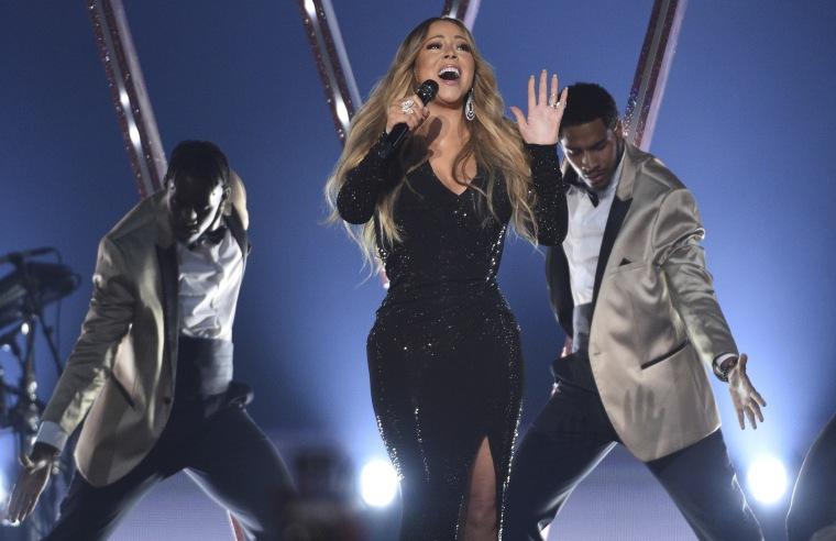 Mariah Carey, Tracee Ellis Ross Celebrate 'Mixed-ish'