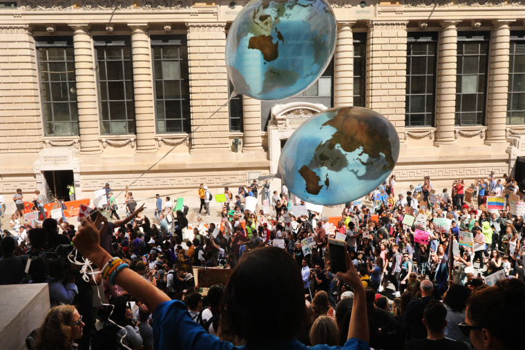 Image: Global climate strike protest in New York