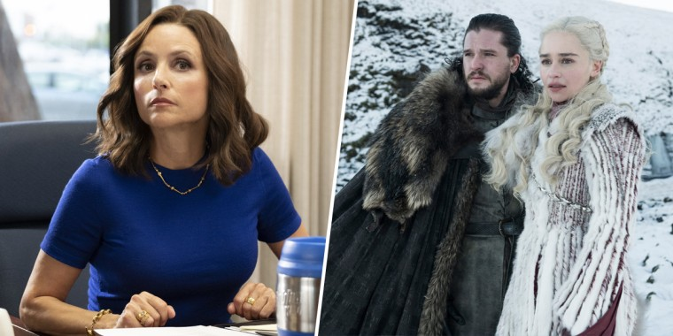 'Game of Thrones' and 'Veep,' two shows that recently wrapped up their runs, are expected to dominate at the Emmy Awards.