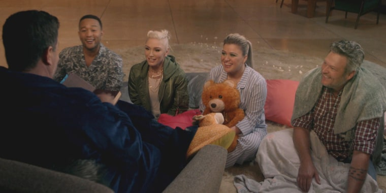 """The Voice"" slumber party"