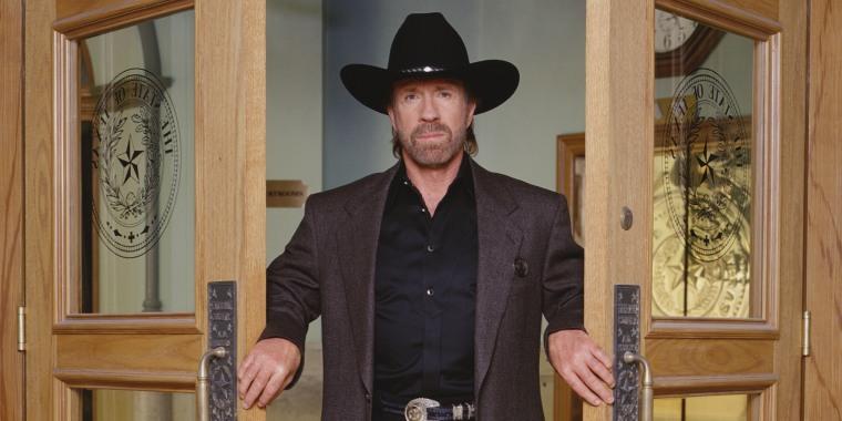 Chuck Norris In 'Walker, Texas Ranger'