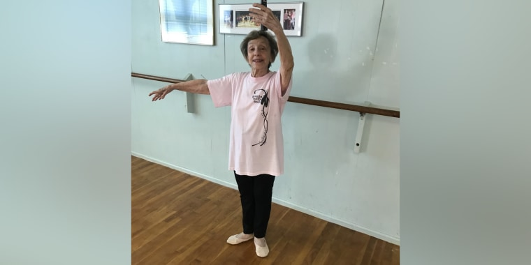 Born on June 8, 1919, Georgia Deane is the founder of The Deane School of Dance in Mendon, Massachusetts. She's still teaching classes today.
