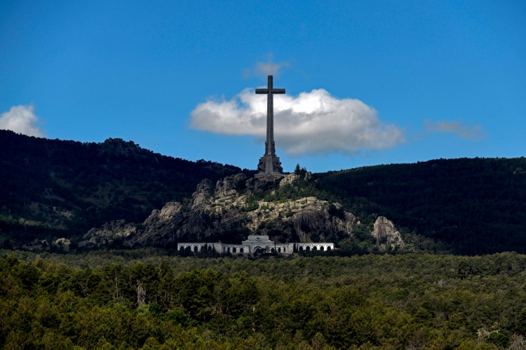 Image: The Valle de los Caidos, a monument to Francoist combatants and Francisco Franco's final resting place on July 3, 2018.