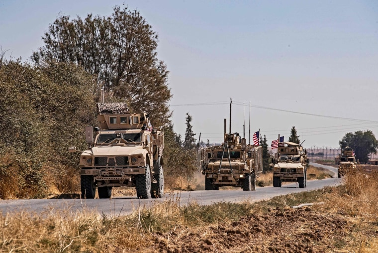 Image: SYRIA-TURKEY-US-CONFLICT