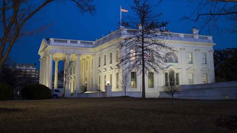 Image: President Trump Departs The White House En Route To Capitol For State Of The Union Address