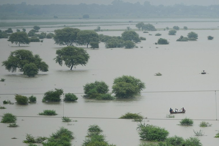 Image: Flooded River Ganges