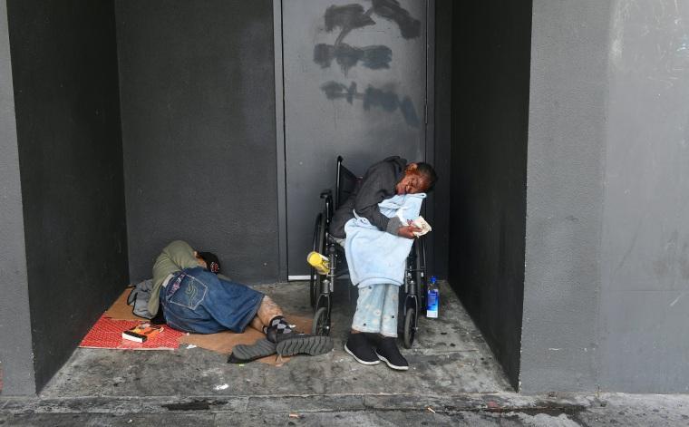 Image: LA homeless