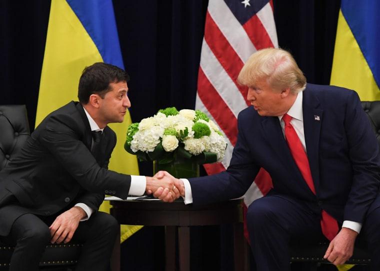 Image: President Donald Trump and Ukrainian President Volodymyr Zelensky