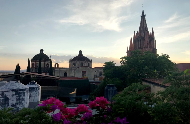 There are more than 700,000 Americans living in Mexico, according to Mexico's National Institute of Statistics and Geography (INEGI). The city of San Miguel de Allende (pictured here) has become a particularly popular destination for American expats due to its colonial-style architecture and low cost of living.