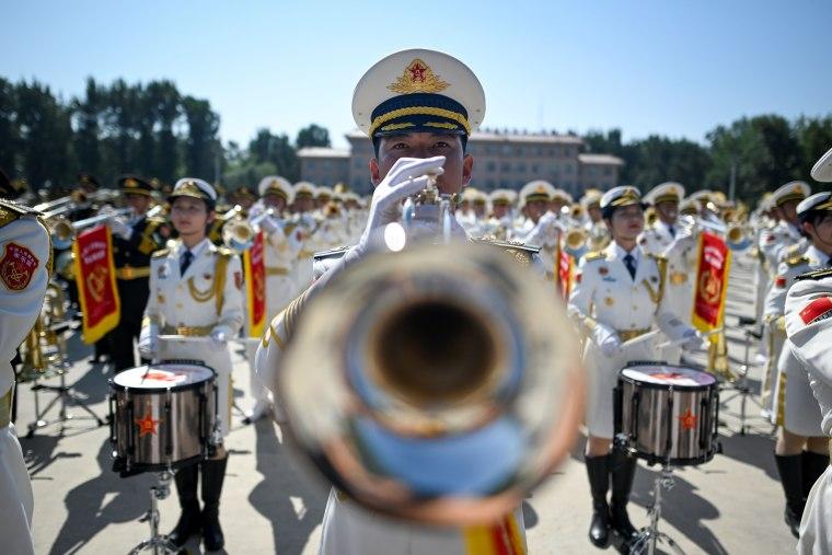 Image: TOPSHOT-CHINA-POLITICS-ANNIVERSARY