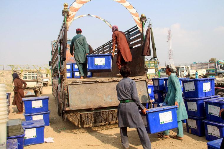 Image: Afghan elections