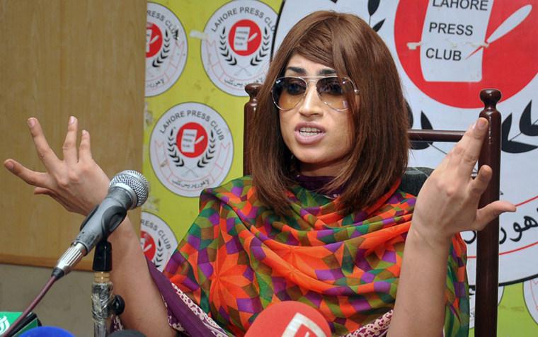 Image: Qandeel Baloch