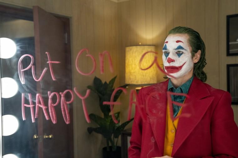 """Joaquin Phoenix as Arthur Fleck in """"Joker""""."""