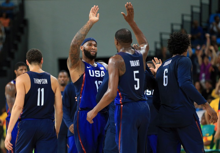 Basketball - Olympics: Day 16