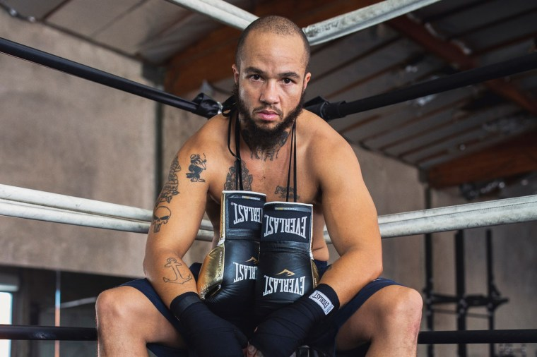 Patricio Manuel, the world's first professional male boxer who is transgender.