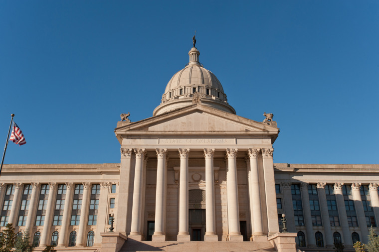 Image: Oklahoma state capitol