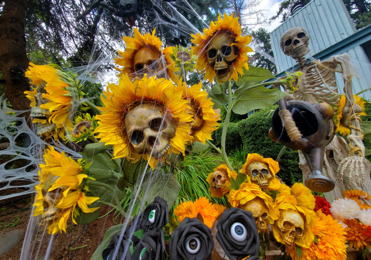 These Creepy Skull Flowers Are The Ultimate Halloween Decoration