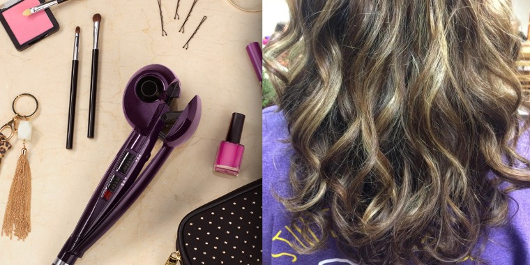 The Conair Infiniti Pro curling iron is affordable and easy to use