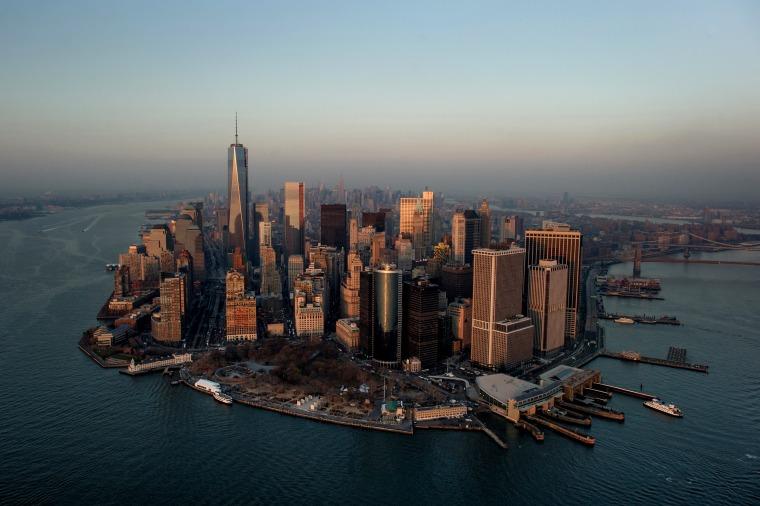 Image: Lower Manhattan in New York on Dec. 3, 2013.