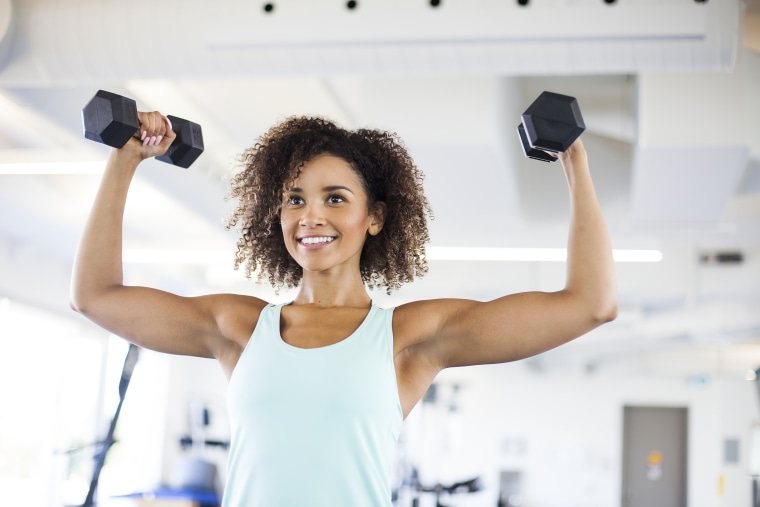 A one-month cardio and strength training plan to tone your arms