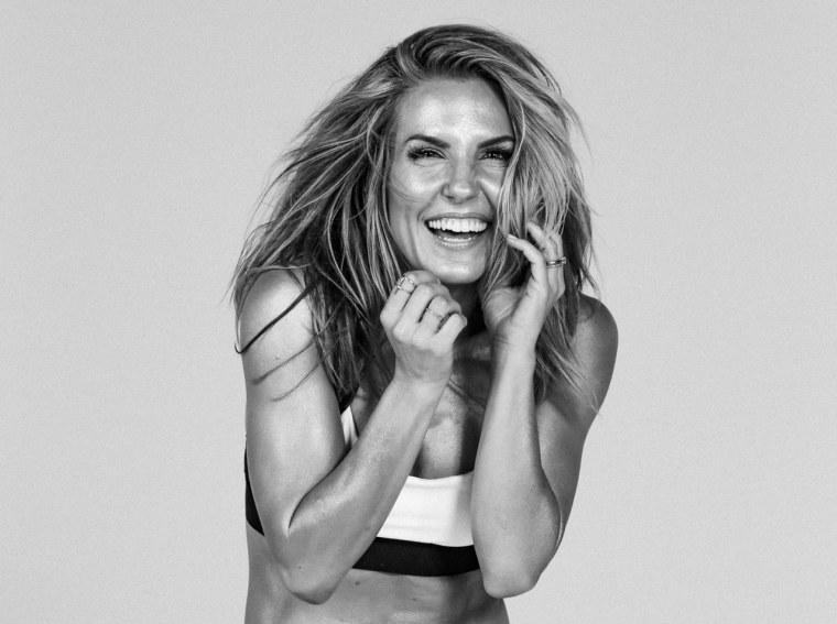Celebrity trainer Anna Kaiser.