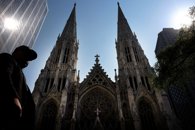 Image: St. Patrick's Cathedral, the seat of the Roman Catholic Archdiocese of New York, in 2015.