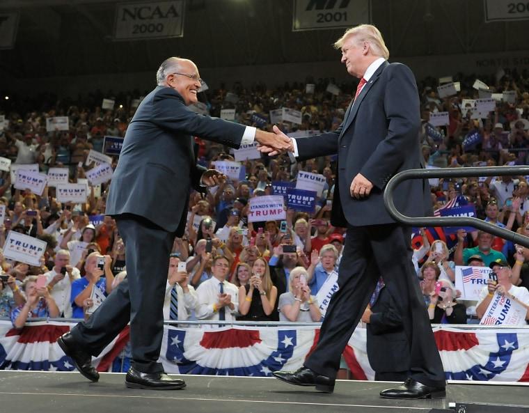 Image: Donald Trump, Rudy Giuliani