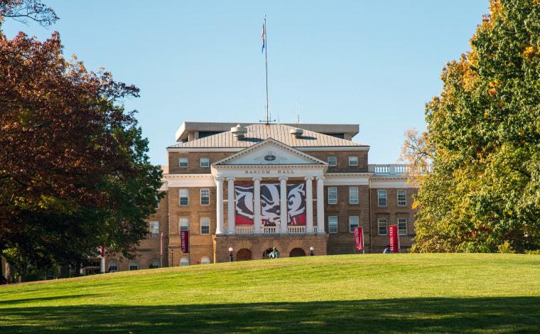 Bascom Hall on Bascom Hill, University of Wisconsin, Madison