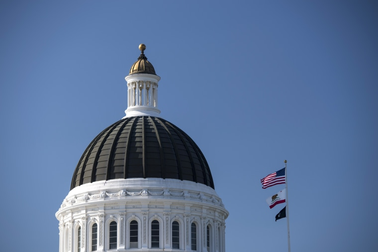 Image: View Of The California State Capitol