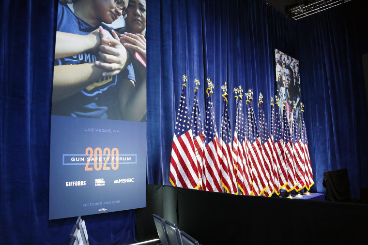 One day after the second anniversary of the Las Vegas massacre, 2020 presidential candidates gather to discuss gun safety in a forum presented by March for Our Lives and Giffords and moderated by MSNBC's Craig Melvin.