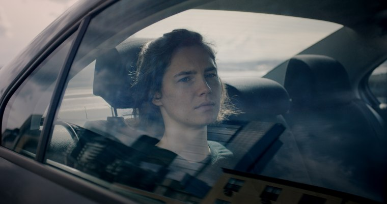 """A still from the Netflix Original Documentary \""""Amanda Knox\"""" which explores the notorious case that made headlines around the world."""