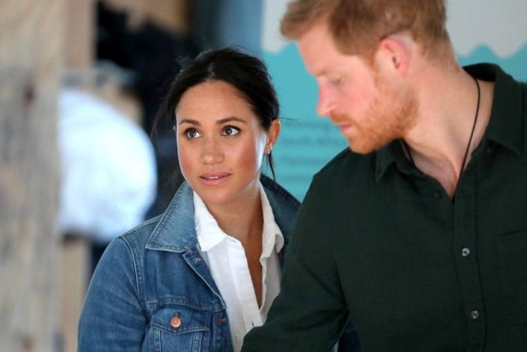 Image: The Duke and Duchess Of Sussex Visit South Africa