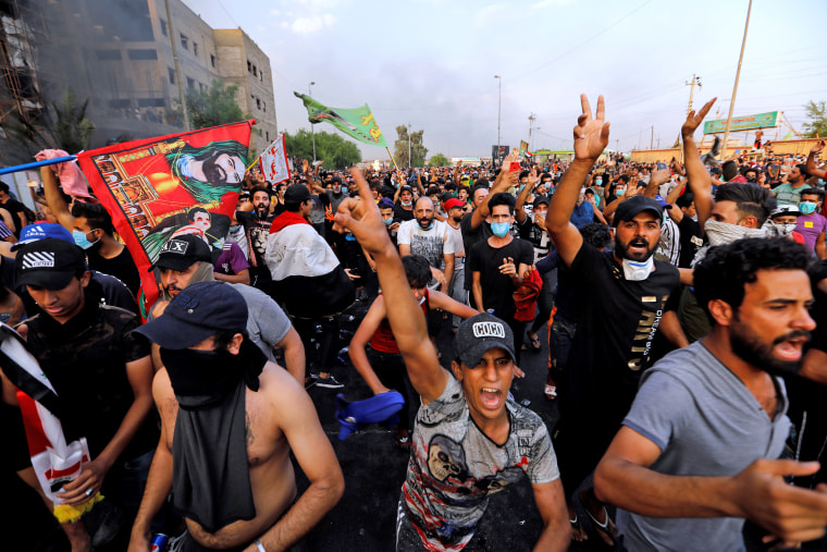 Image result for iraq youth protests