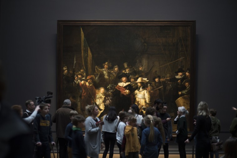 Image: Rembrandt Night Watch