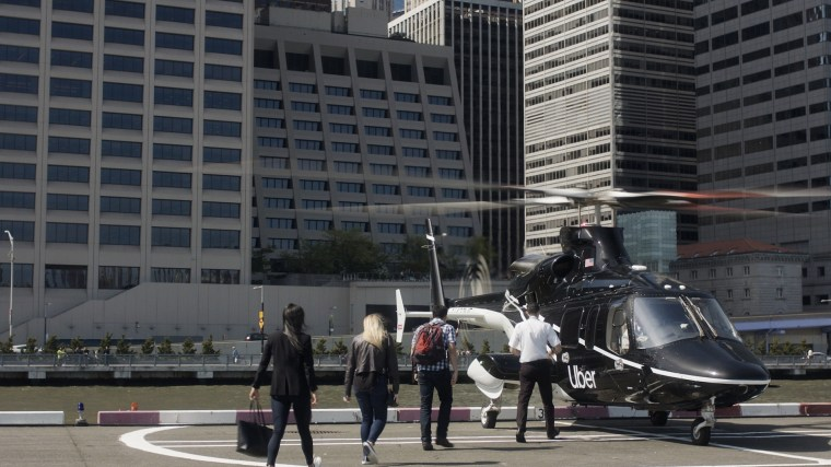 Uber will run helicopter trips between lower Manhattan and JFK airport.