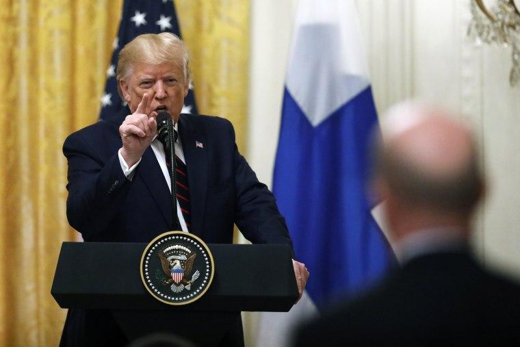Image: Donald Trump, Sauli Niinisto