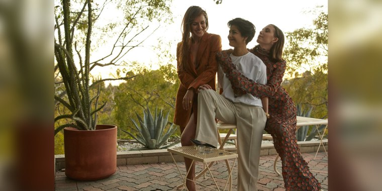 From left to right: Yola Mezcal's Gina Correll Aglietti, Yolanda Jimenez, Lykke Li