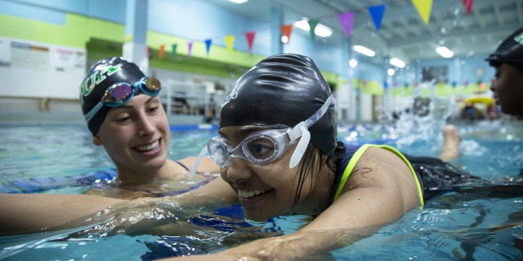 Sylvie Goldner has loved the water since she was a little kid. Now she's teaching other teens how to swim through her after-school program, First Strokes.