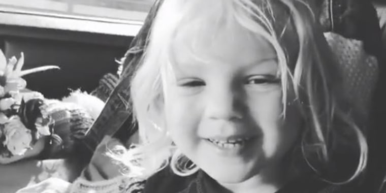 The pop star shared a video of her son, Jameson, welcoming her home from a music festival.