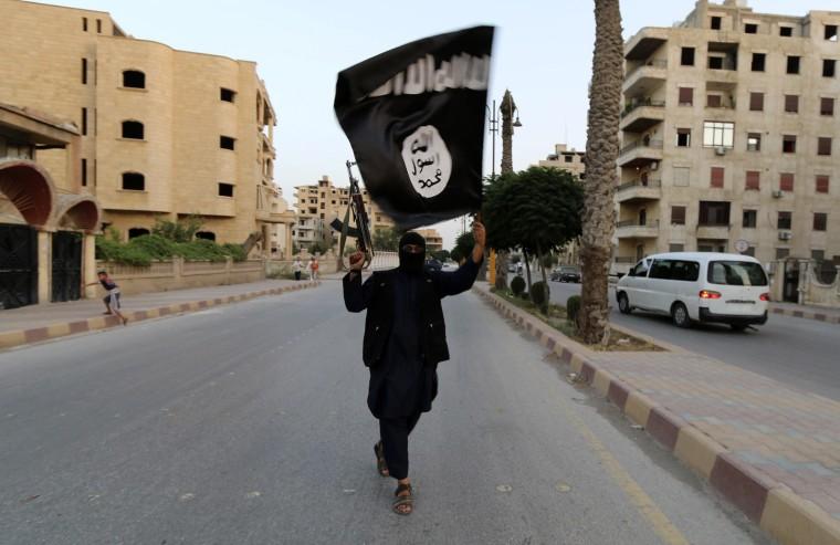 Image: ISIS member