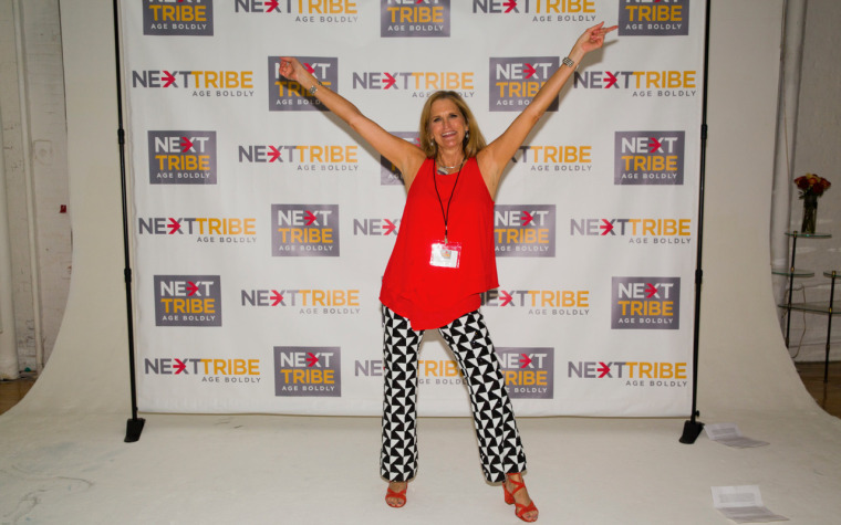"""NextTribe founder Jeannie Ralston at the """"Screw Invisibility"""" event last Wednesday."""