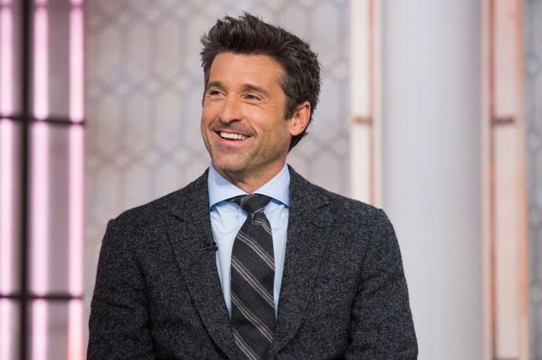 Image: Patrick Dempsey appears on the TODAY show.