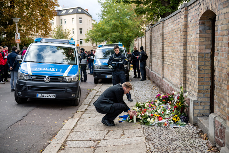 Image: Two Dead In Shooting Near Synagogue In Halle